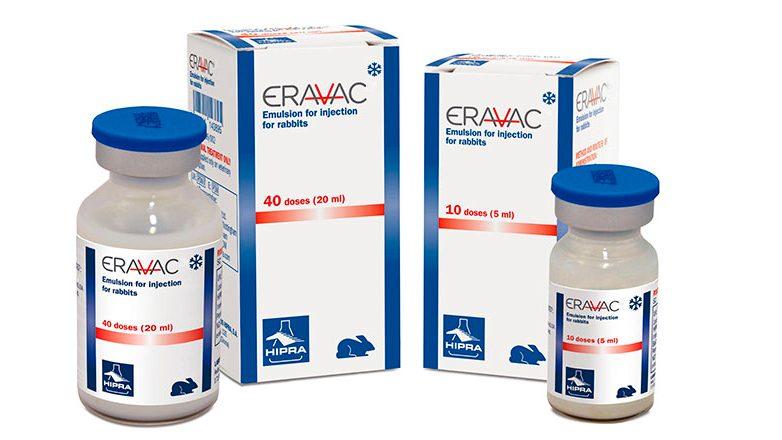 Werkzaamheid Eravac na 9 maanden